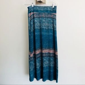 Tribal Maxi Knit Skirt